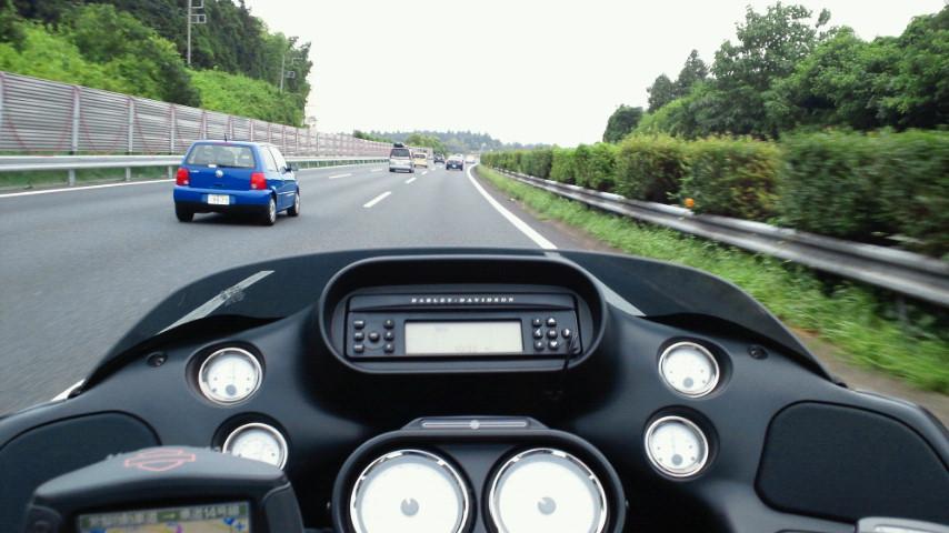 常磐道なう。今日は道も天気もバイク向きな件。