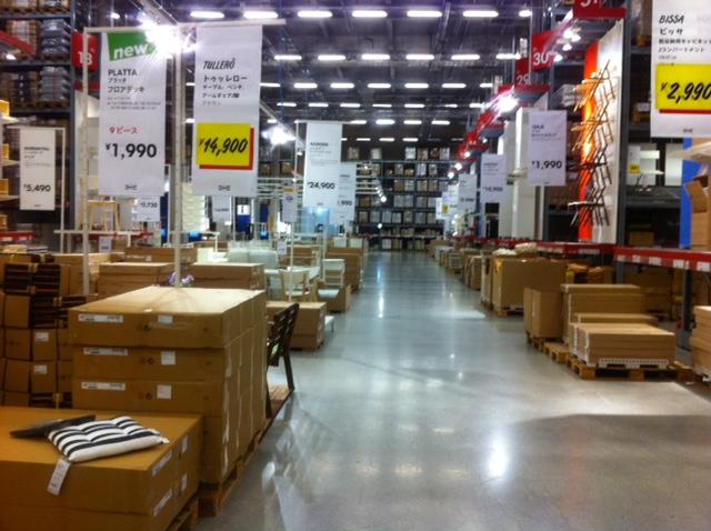 IKEA新三郷滑り込みセーフなう。