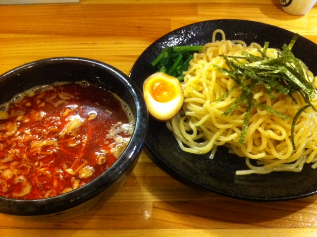 "I'm at souka ""麺屋 龍"" 辛つけ麺 ate delicious!"