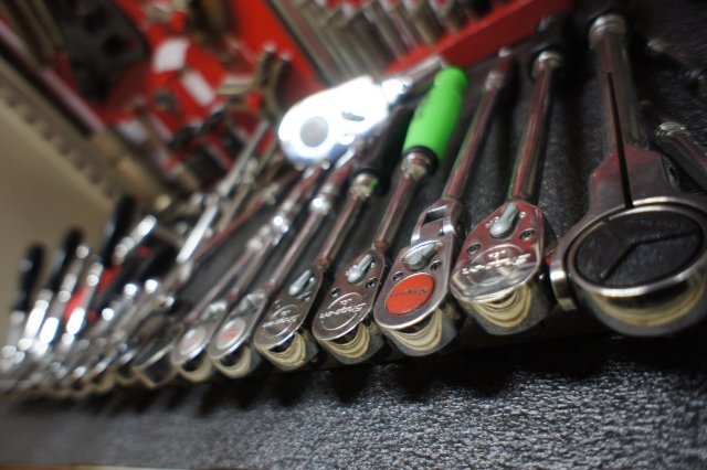 Ratchet handle collection!